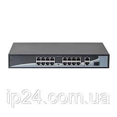 POE коммутатор 19-портовый HongRui HR901-AF-1621GS 300Вт
