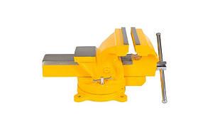 Тиски слесарные поворотные Ширина захвата 150 мм Mastertool (07-0215)