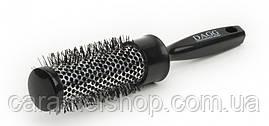Брашинг для волосся термо Dagg 9016 чорний діаметр 3,5 см