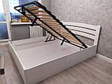 Ліжко з підйомним механізмом Грін 160*200 Ясен, фото 4