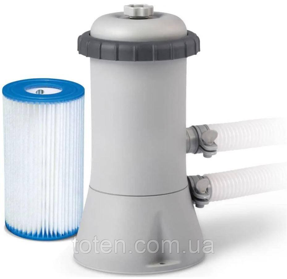 Насос-фільтр картріджний 3785 л/год, картридж А, шланг 32 мм, Intex 28638 (56638) Н