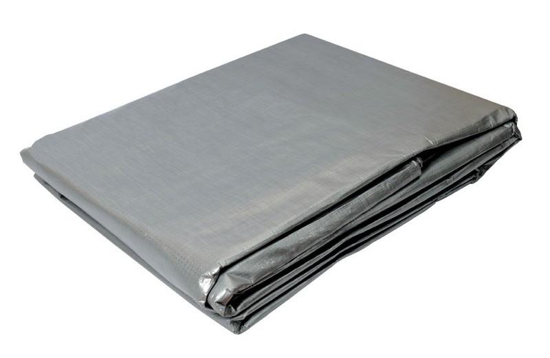Тент 6х8 м, 110г/м2, срібло Mastertool (79-7608)