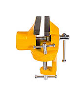 Мини тиски слесарные поворотные 60 мм Mastertool (07-0202)