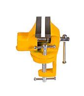Мини тиски слесарные поворотные 70 мм Mastertool (07-0203)