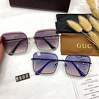 Женские солнцезащитные очки Gucci Без Оправы Реплика
