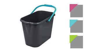 Ведро пластиковое без отжима 12 л ГОСПОДАР (14-6460)
