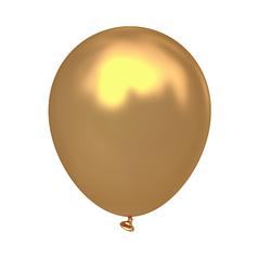 """Куля 10"""" (26 см) Kalisan металік Gold золото (Калісан)"""