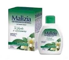 Malizia Green Tea and Jasmine гель для интимной гигиены