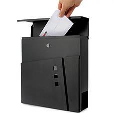 Почтовый ящик для писем и газет - Юпитер D00008