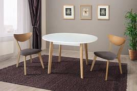 Обідній розкладний стіл в скандинавському стилі Омега -2 Модуль Люкс, ясен