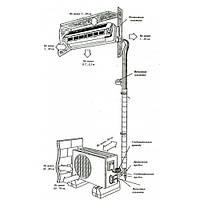 Установка монтаж кондиционера 24 модели (помещение 63-71 м2)
