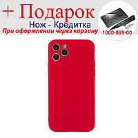 Чехол накладка для iPhone 11 Pro силиконовая iPhone 11 Pro Красный, фото 1