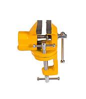 Мини тиски слесарные поворотные 40 мм Mastertool (07-0200)