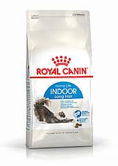 Royal Canin Indoor Longhair 400 г для длинношерстных, не выходящих на улицу