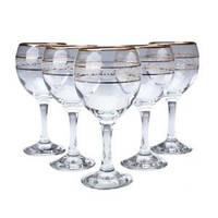 Набор бокалов для белого вина MISKET 165 мл 6 шт Gurallar Art Craft
