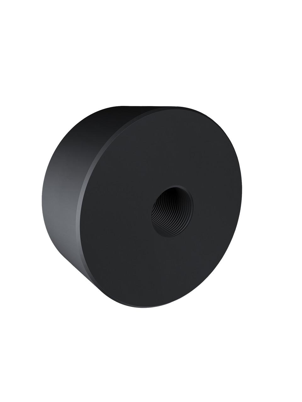 ODF-06-25-21-L20 Дистанція 20 мм для коннектора діаметром 40 мм з різьбою М8, чорний