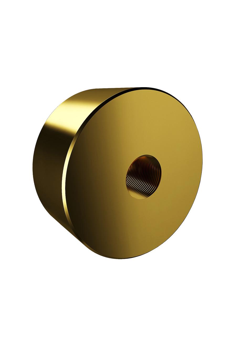 ODF-06-26-10-L20 Дистанция 20 мм для коннектора диаметром 40 мм и с резьбой М10, цвет золото