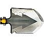 Лопата багатофункціональна туристична Milcraft Сталь/алюміній, Золото, Мотика, ніж-пила, гайковер, сокира, фото 2