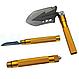 Лопата багатофункціональна туристична Milcraft Сталь/алюміній, Золото, Мотика, ніж-пила, гайковер, сокира, фото 4
