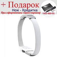 Мини браслет USB для смартфонов Lightning Lightning Белый, фото 1