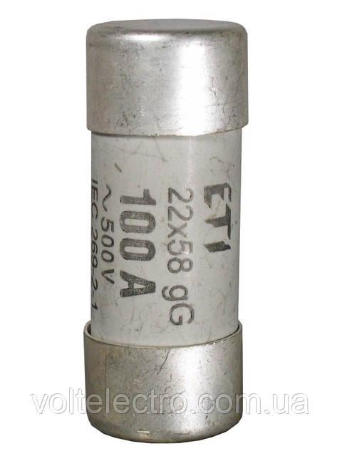 Предохранители цилиндрические CH 22 x 58 gG,  50A  500V