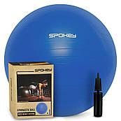 Гімнастичний м'яч для спорту, фітбол + насос, м'яч для фітнесу Spokey Fitball lIl 65, 75 см (920938) 65 см