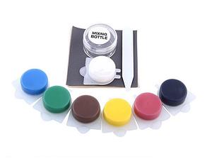 Комплект для ремонту шкіри вінілу Leather Vinyl Repair Kit фарба разноцвет