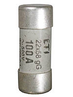 Предохранители цилиндрические CH 22 x 58 gG,  63A  500V