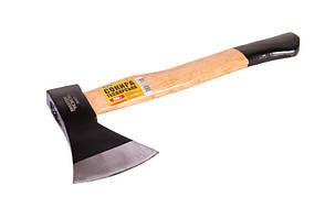 Сокира 800 г рукоятка 420 мм з твердого дерева Mastertool (05-0128)
