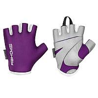 Женские перчатки для фитнеса Spokey Lady Fit 928970 (original), спортивные атлетические тренировочные, фото 1