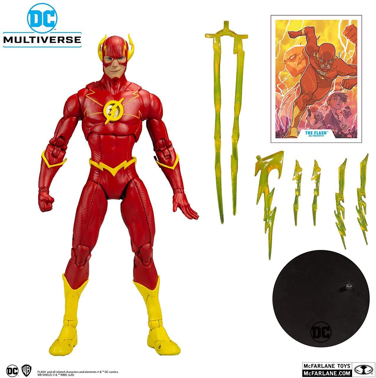 Фігурка Флеш Мультивсесвіт DC Flash McFarlane