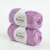 Пряжа DROPS Muskat (колір 04 lilac), фото 2