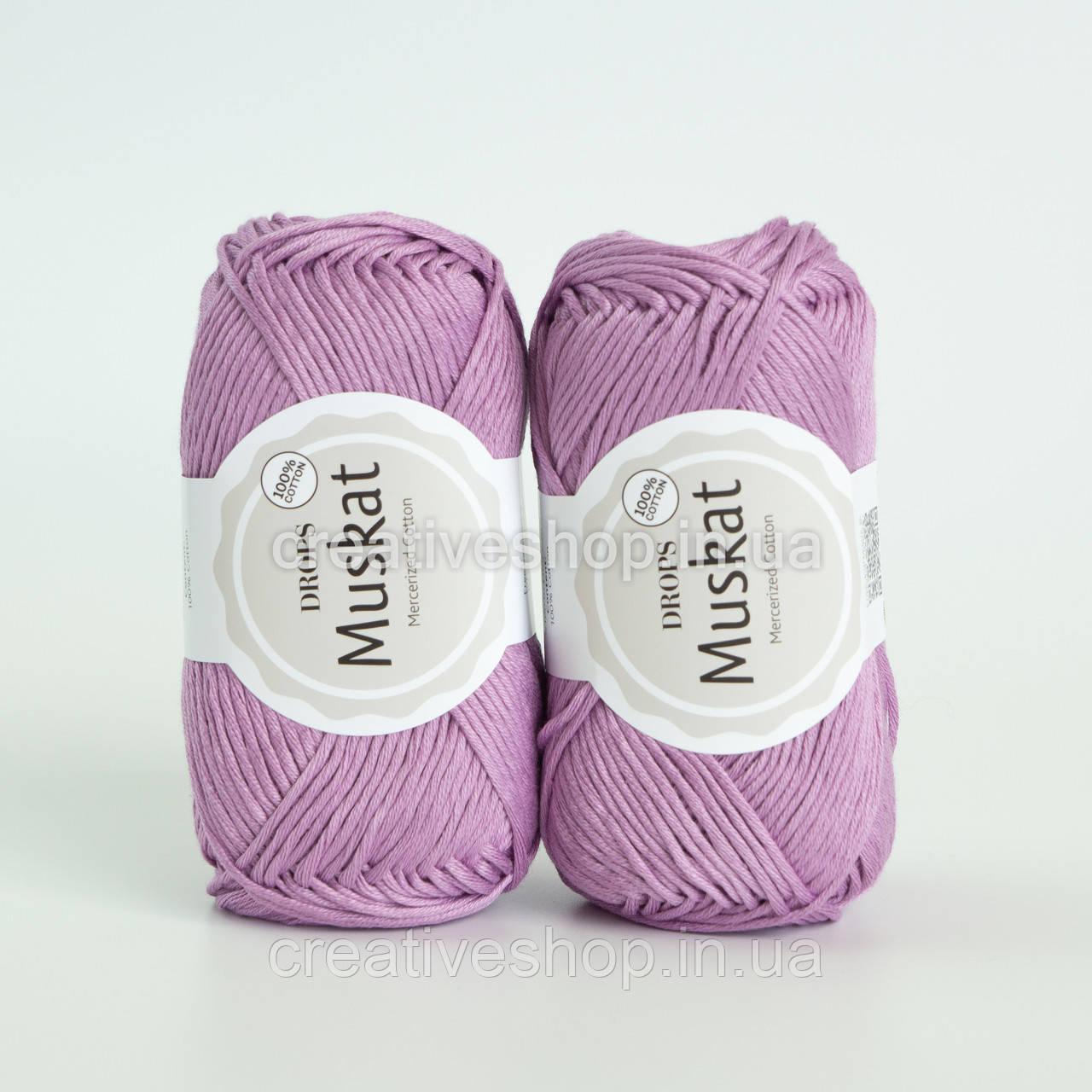 Пряжа DROPS Muskat (колір 04 lilac)