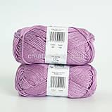 Пряжа DROPS Muskat (колір 04 lilac), фото 3
