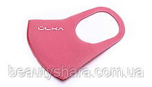 Багаторазова захисна маска ÜLKA рожева