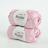 Пряжа DROPS Muskat (колір 05 powder pink), фото 2