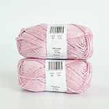 Пряжа DROPS Muskat (колір 05 powder pink), фото 3