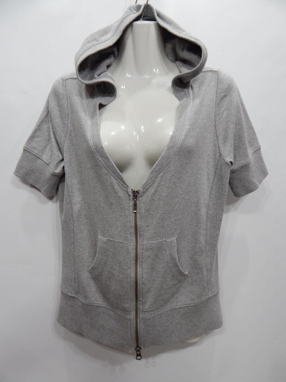 Толстовка літня з коротким рукавом жіноча фірмова з капюшоном UKR 48-50 р. 045PT