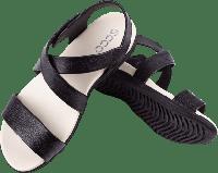 Женские кожаные сандали DAMARA SANDAL Черные