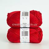 Пряжа DROPS Muskat (колір 12 red), фото 3