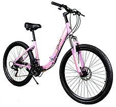 """Складной велосипед Unicorn - Gloria 26"""" размер рамы 16"""" Золотой, фото 3"""