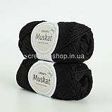 Пряжа DROPS Muskat (колір 17 black), фото 2