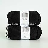 Пряжа DROPS Muskat (колір 17 black), фото 3