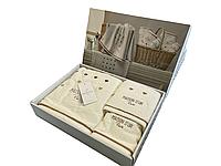 Набор полотенец Maison D'or Candy Cream махровые 32-50 см,50-90 см,70-140 см кремовые