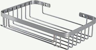 Полка в ванную 100028 нержавеющая сталь AISI 304