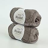 Пряжа DROPS Muskat (колір 24 taupe), фото 2