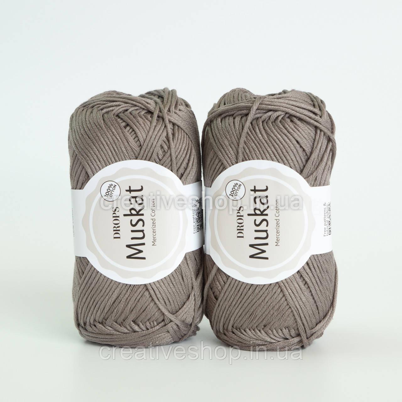 Пряжа DROPS Muskat (колір 24 taupe)