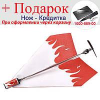 Літак з електроприводом Збери сам паперовий
