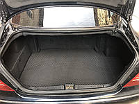Mercedes W220 S-class Коврик багажника (EVA, полиуретановый, черный SHORT, фото 1