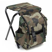 Рюкзак туристический со стулом (Хаки)
